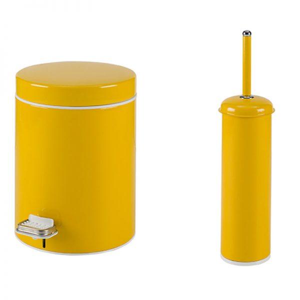 Σετ Κάδος-Πιγκάλ Κίτρινο